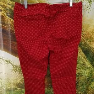 Jeans - Red Polka Dot Jeans